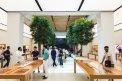 Fotografia: Apple Store Dubai, fotograf: David Hecl, tagy: fotografia, apple, obchod, miesto, mesto, architektúra, stromy