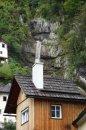 Fotografia: Kde tečie voda do komína?, fotograf: Lýdia Šimková, tagy: hádanka, komín, vodopád, Rakúsko