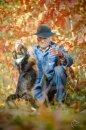 Fotografia: Obraz mojej duše , fotograf: Nicol Urbanová, tagy: pes, človek, príroda, Levice